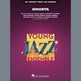 Download Shawn Mendes & Camila Cabello 'Señorita (arr. Paul Murtha) - Alto Sax 2' Printable PDF 2-page score for Pop / arranged Jazz Ensemble SKU: 441781.