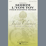 Download or print Shulamit Ran Four Festive Songs Sheet Music Printable PDF 26-page score for A Cappella / arranged SATB Choir SKU: 85985.