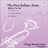 Download Shutack 'Miles To Go - Drums' Printable PDF 2-page score for Jazz / arranged Jazz Ensemble SKU: 316456.