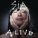 Download or print Sia Alive Sheet Music Printable PDF 9-page score for Pop / arranged Piano, Vocal & Guitar SKU: 122588.