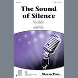 Download or print Simon & Garfunkel The Sound Of Silence (arr. Mark Hayes) Sheet Music Printable PDF 11-page score for Folk / arranged SAB Choir SKU: 87669.