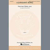 Download or print Norman Dello Joio A Jubilant Song (arr. Stan McGill) Sheet Music Printable PDF 11-page score for Concert / arranged TTBB Choir SKU: 97132.