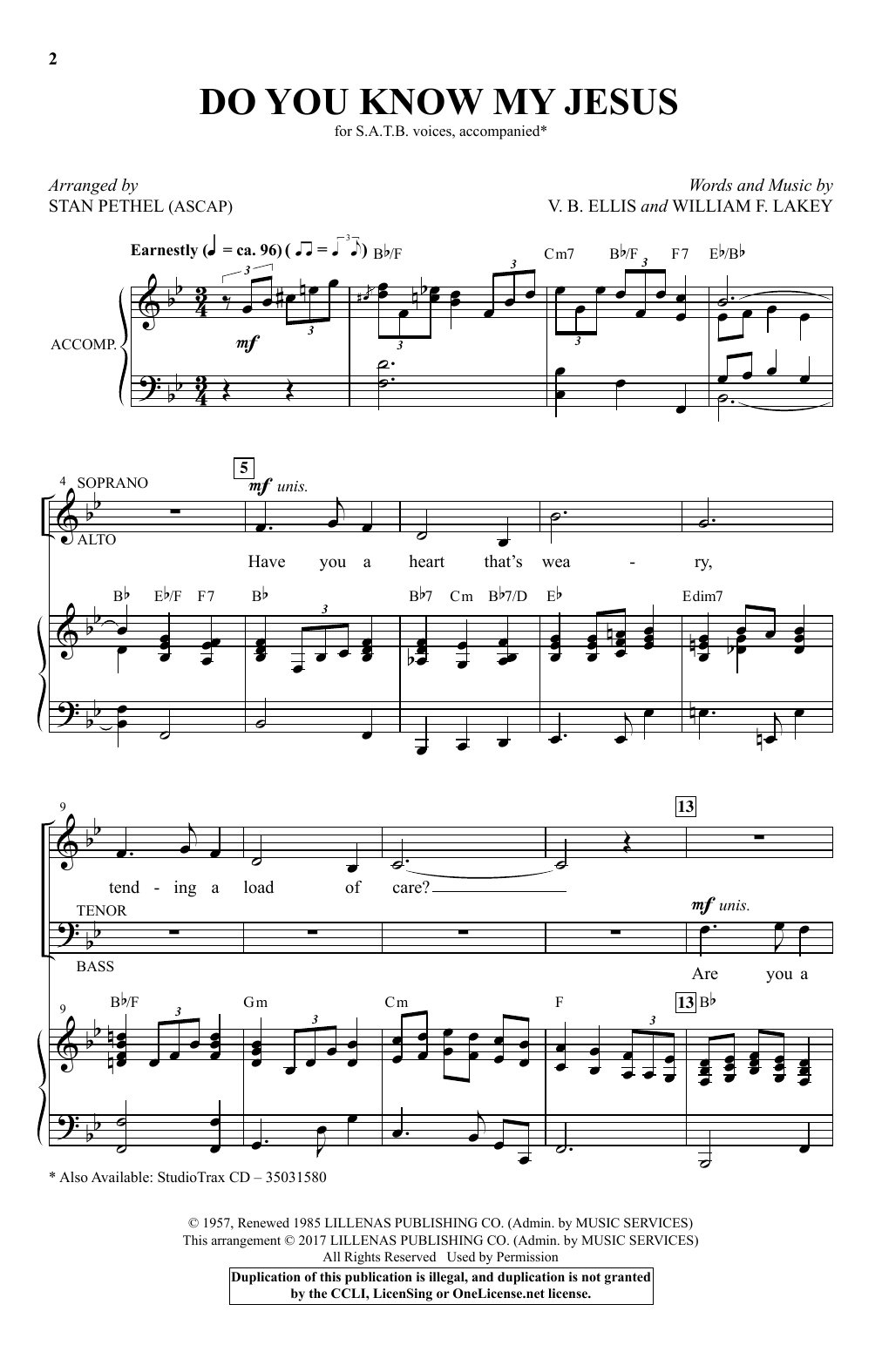 Stan Pethel Do You Know My Jesus? sheet music notes and chords. Download Printable PDF.