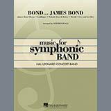 Download Stephen Bulla 'Bond... James Bond - Bb Bass Clarinet' Printable PDF 3-page score for Film/TV / arranged Concert Band SKU: 324896.