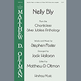 Download or print Stephen Foster Nelly Bly (arr. Jack Hallaran) Sheet Music Printable PDF 7-page score for A Cappella / arranged SATB Choir SKU: 460026.