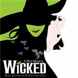 Download or print Stephen Schwartz Defying Gravity (from Wicked) Sheet Music Printable PDF 10-page score for Musical/Show / arranged Big Note Piano SKU: 70411.