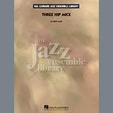 Download Steve Allee 'Three Hip Mice - Conductor Score (Full Score)' Printable PDF 18-page score for Pop / arranged Jazz Ensemble SKU: 350544.