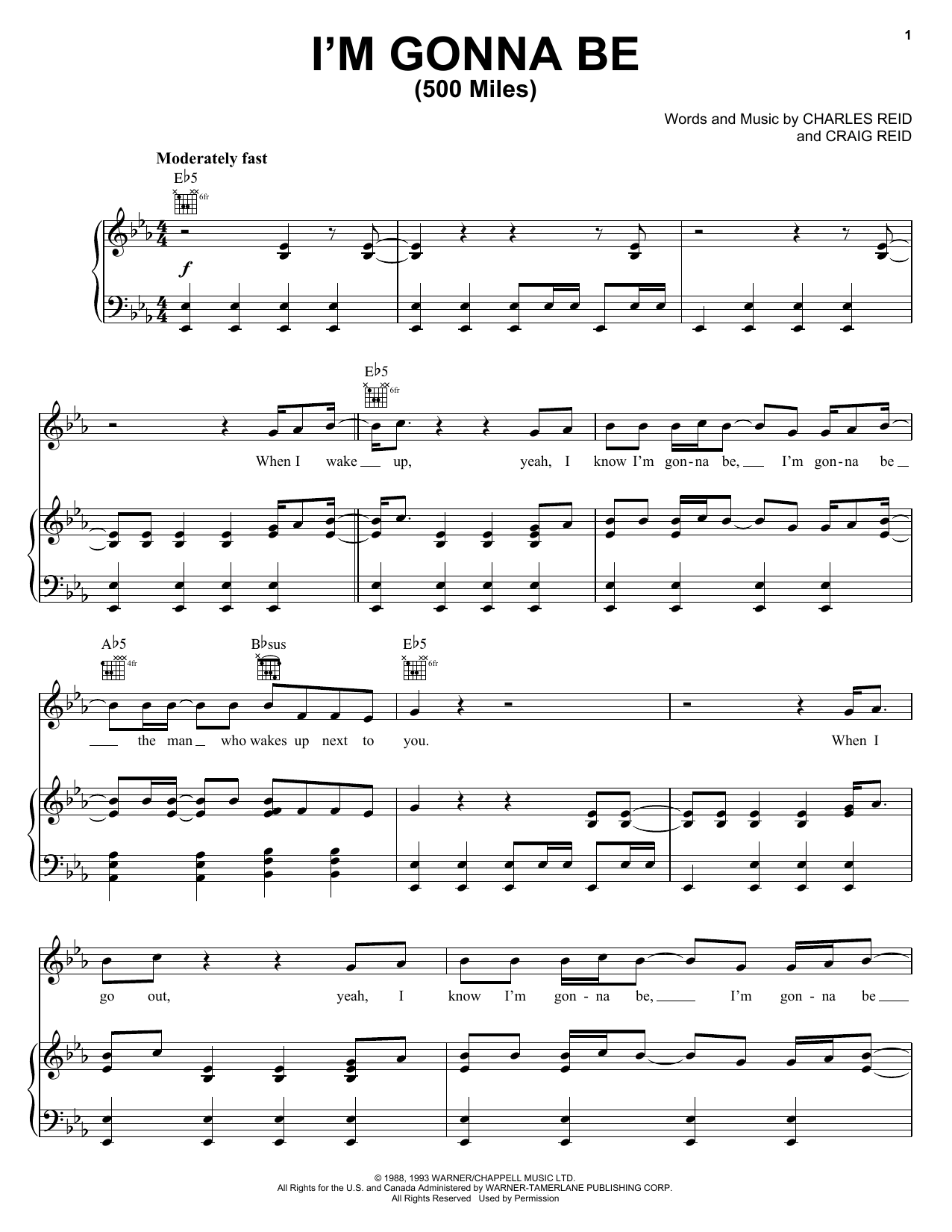 Steven Curtis Chapman I'm Gonna Be 15 Miles Sheet Music Notes, Chords    Download Printable Piano, Vocal & Guitar Right Hand Melody PDF Score   ...