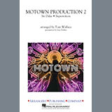 Download Stevie Wonder 'Motown Production 2 (arr. Tom Wallace) - Clarinet 2' Printable PDF 1-page score for Soul / arranged Marching Band SKU: 414632.