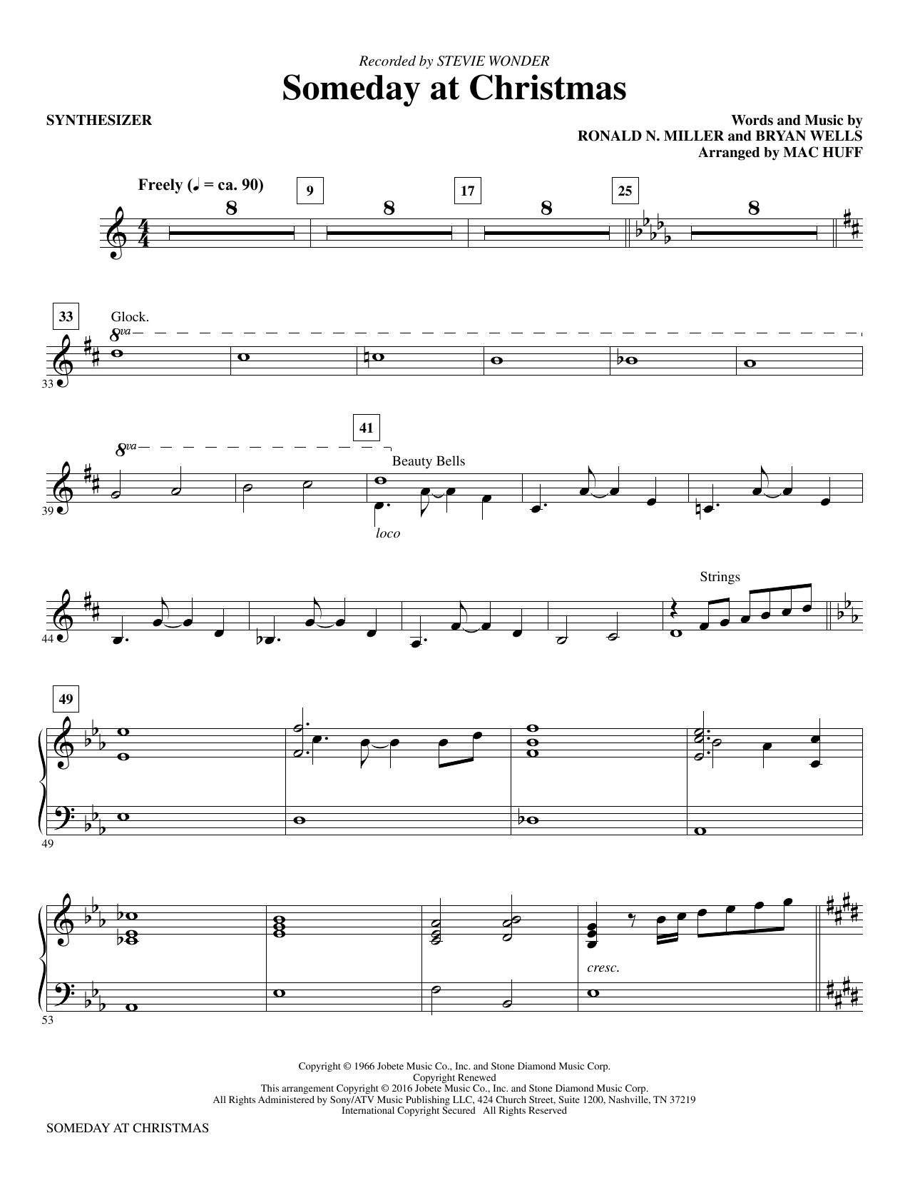 """Stevie Wonder """"Someday at Christmas"""