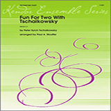 Download or print Stouffer Fun For Two With Tschaikowsky - Trombone Duet Sheet Music Printable PDF 11-page score for Classical / arranged Brass Ensemble SKU: 124758.