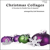 Download or print Strommen Christmas Collages - F Instruments Sheet Music Printable PDF 22-page score for Christmas / arranged Brass Ensemble SKU: 405211.