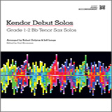 Download Strommen 'Kendor Debut Solos - Bb Tenor Sax - Piano Accompaniment' Printable PDF 45-page score for Instructional / arranged Woodwind Solo SKU: 125000.