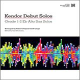 Download Strommen 'Kendor Debut Solos - Eb Alto Sax' Printable PDF 16-page score for Instructional / arranged Woodwind Solo SKU: 125001.