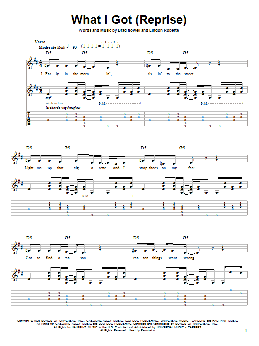 Sublime What I Got sheet music notes and chords. Download Printable PDF.