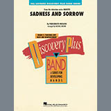 Download or print Taylor Davis Sadness and Sorrow (from Naruto) (arr. Michael Brown) - Bass Sheet Music Printable PDF 1-page score for Japanese / arranged Concert Band SKU: 418290.