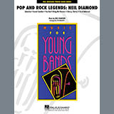 Download Ted Ricketts 'Pop and Rock Legends - Neil Diamond - Percussion 1' Printable PDF 3-page score for Pop / arranged Concert Band SKU: 272399.