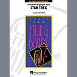Download Ted Ricketts 'Star Trek - Soundtrack Highlights - F Horn 1' Printable PDF 2-page score for Film/TV / arranged Concert Band SKU: 281367.