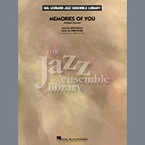 Download Terry White 'Memories of You (Trumpet Feature) - Vibes' Printable PDF 1-page score for Jazz / arranged Jazz Ensemble SKU: 376043.