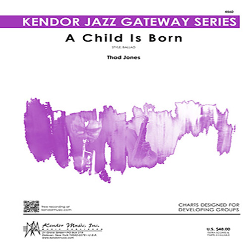 Easily Download Thad Jones Printable PDF piano music notes, guitar tabs for Jazz Ensemble. Transpose or transcribe this score in no time - Learn how to play song progression.