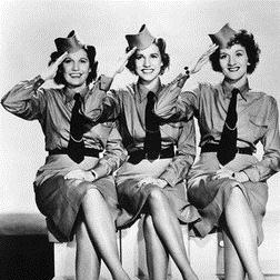 Download or print The Andrews Sisters I'll Be With You In Apple Blossom Time Sheet Music Printable PDF 4-page score for Jazz / arranged Piano Solo SKU: 27945.
