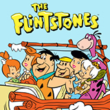 Download or print The BC-52's (Meet) The Flintstones Sheet Music Printable PDF 3-page score for Film/TV / arranged Big Note Piano SKU: 431271.