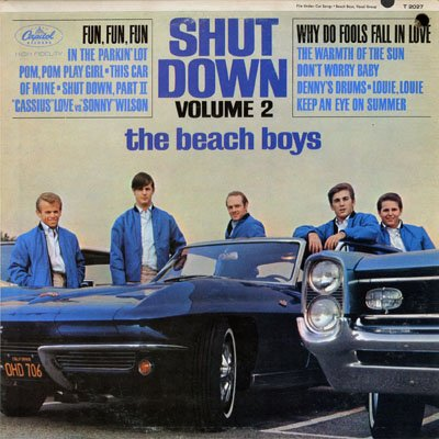 The Beach Boys, Don't Worry Baby, Piano, Vocal & Guitar (Right-Hand Melody)