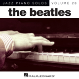 Download The Beatles 'Golden Slumbers [Jazz version] (arr. Brent Edstrom)' Printable PDF 5-page score for Pop / arranged Piano Solo SKU: 150664.