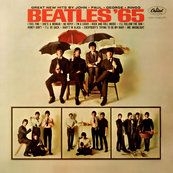 The Beatles, I Feel Fine, Piano, Vocal & Guitar (Right-Hand Melody)