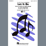 Download The Beatles 'Let It Be (arr. Kirby Shaw)' Printable PDF 9-page score for Pop / arranged SATB Choir SKU: 438888.