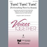 Download or print The Byrds Turn! Turn! Turn! (To Everything There Is A Season) (arr. Cristi Cary Miller) Sheet Music Printable PDF 6-page score for Pop / arranged 2-Part Choir SKU: 458020.