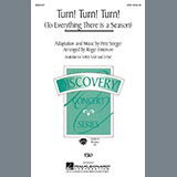 Download The Byrds 'Turn! Turn! Turn! (To Everything There Is A Season) (arr. Roger Emerson)' Printable PDF 10-page score for Pop / arranged SAB Choir SKU: 437176.
