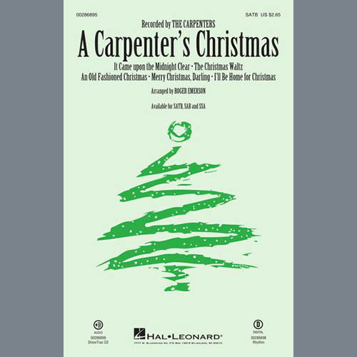 Easily Download The Carpenters Printable PDF piano music notes, guitar tabs for SATB Choir. Transpose or transcribe this score in no time - Learn how to play song progression.
