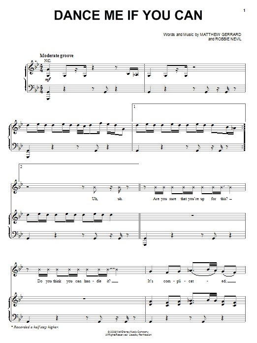 The Cheetah Girls Dance Me If You Can sheet music notes and chords. Download Printable PDF.