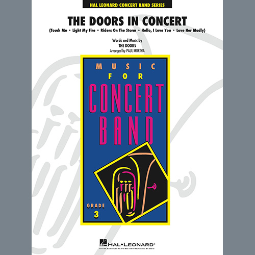 Easily Download The Doors Printable PDF piano music notes, guitar tabs for Concert Band. Transpose or transcribe this score in no time - Learn how to play song progression.