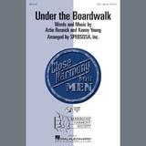 Download The Drifters 'Under The Boardwalk (arr. SPEBSQSA, Inc.)' Printable PDF 6-page score for Barbershop / arranged TTBB Choir SKU: 407041.