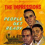 Download The Impressions 'People Get Ready' Printable PDF 2-page score for Jazz / arranged Solo Guitar Tab SKU: 419389.