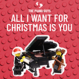 Download The Piano Guys 'All I Want For Christmas Is You' Printable PDF 10-page score for Christmas / arranged Cello and Piano SKU: 431972.