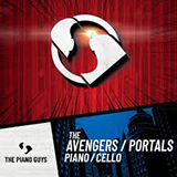 Download The Piano Guys 'The Avengers' Printable PDF 9-page score for Pop / arranged Cello and Piano SKU: 430702.