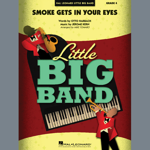 The Platters, Smoke Gets In Your Eyes (arr. Mike Tomaro) - Piano, Jazz Ensemble