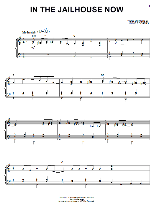 The Soggy Bottom Boys In The Jailhouse Now sheet music notes and chords. Download Printable PDF.