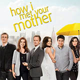 Download or print The Solids Hey Beautiful (from How I Met Your Mother) Sheet Music Printable PDF 3-page score for Film/TV / arranged Big Note Piano SKU: 423558.