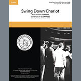 Download The Vagabonds 'Swing Down Chariot' Printable PDF 9-page score for Barbershop / arranged SATB Choir SKU: 432510.