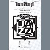 Download or print Thelonious Monk 'Round Midnight (arr. Ed Lojeski) Sheet Music Printable PDF 6-page score for Jazz / arranged SATB Choir SKU: 432284.