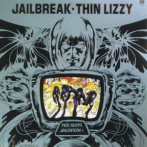 Thin Lizzy, Jailbreak, Piano, Vocal & Guitar (Right-Hand Melody)