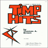 Download Thomas Brown 'Timp Hits' Printable PDF 20-page score for Concert / arranged Percussion Solo SKU: 382128.
