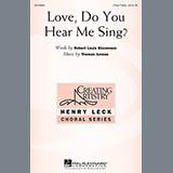Download or print Thomas Juneau Love, Do You Hear Me Sing? Sheet Music Printable PDF 8-page score for Festival / arranged 3-Part Treble Choir SKU: 157659.