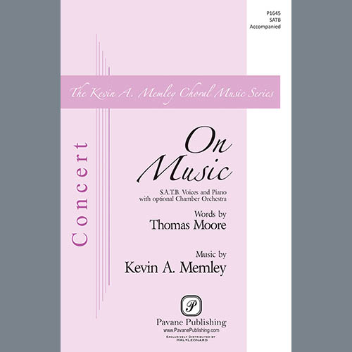 Easily Download Thomas Moore and Kevin A. Memley Printable PDF piano music notes, guitar tabs for SATB Choir. Transpose or transcribe this score in no time - Learn how to play song progression.