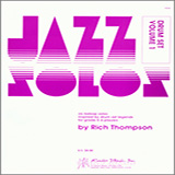 Download or print Thompson Jazz Solos For Drum Set, Volume 1 Sheet Music Printable PDF 13-page score for Jazz / arranged Percussion Solo SKU: 124875.