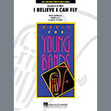 Download Tim Waters 'I Believe I Can Fly - Trombone 2' Printable PDF 2-page score for Film/TV / arranged Concert Band SKU: 272152.